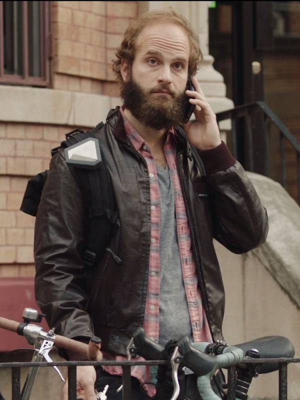High Maintenance TV Series The Guy Leather Jacket