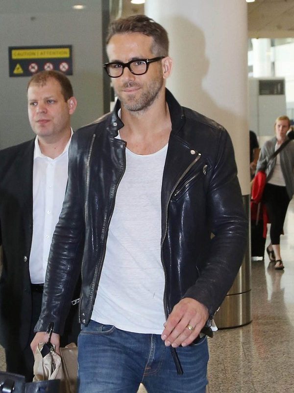 Ryan Reynolds Mississippi Grind Premiere Leather Jacket