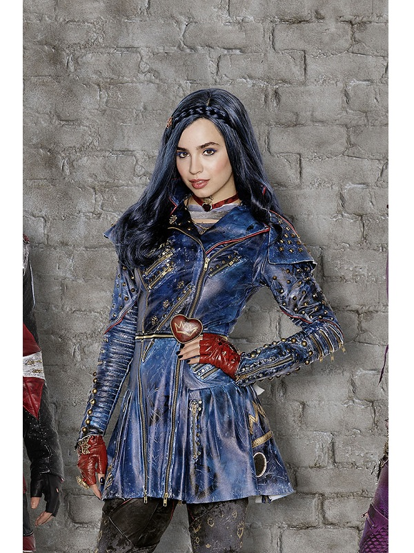 Sofia Carson Descendants 2 Evie Leather Frock