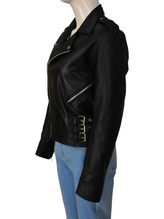 Kim Kardashian Leather Jacket,