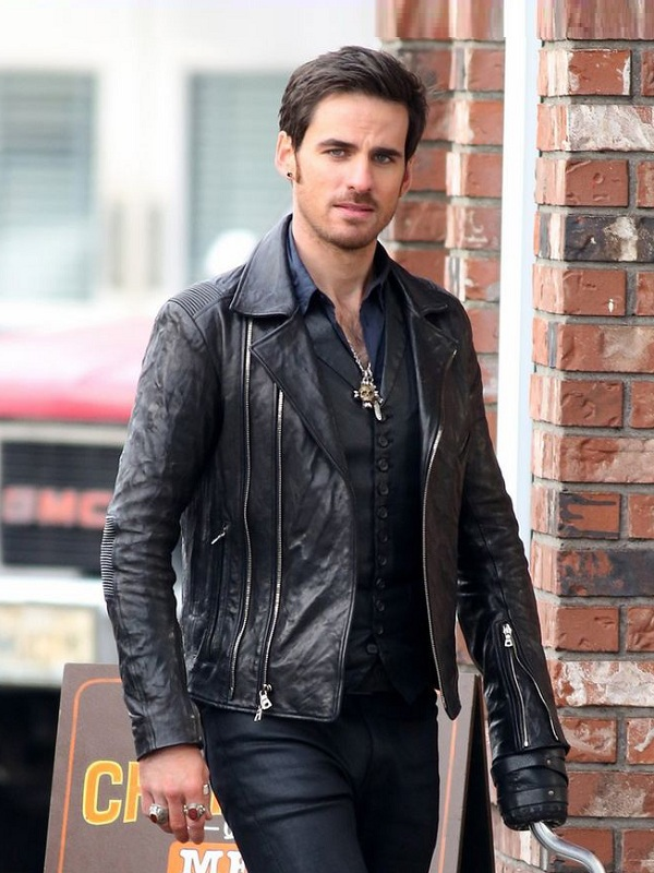 Once Upon A Time Season 6 Captain Hook Leather Jacket