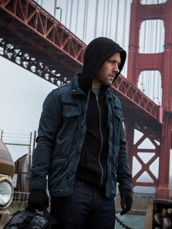 Paul Rudd Ant Man Movie Cotton Jacket