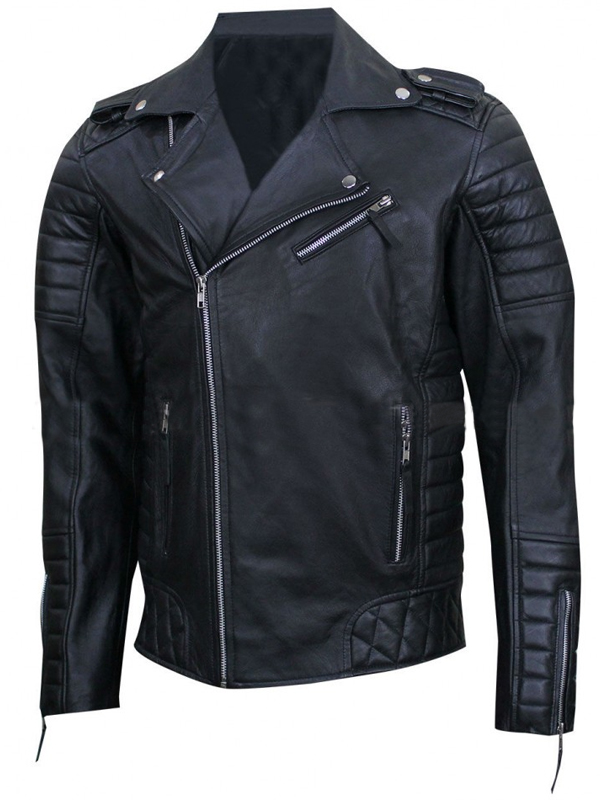 Prestige Homme MR18 Kay Michael Quilted Biker Jacket
