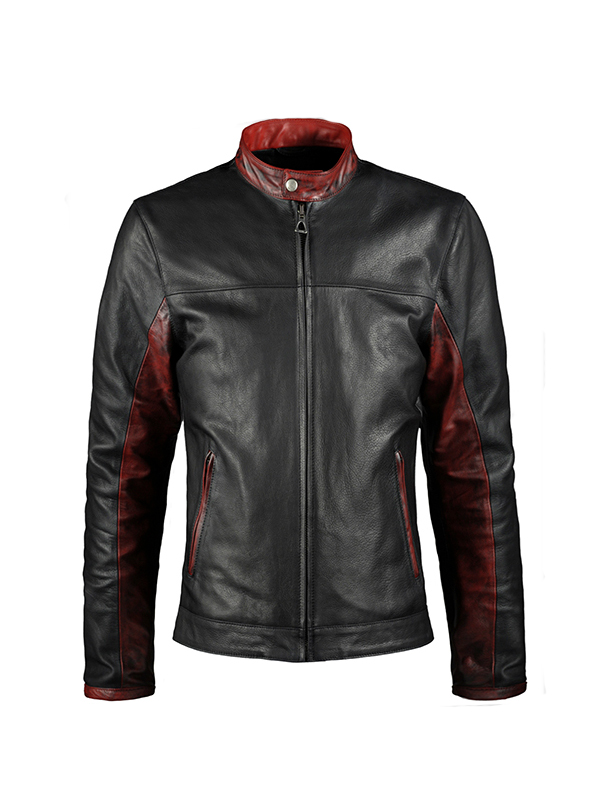 Batman Dark Knight Christian Bale Leather Jacket