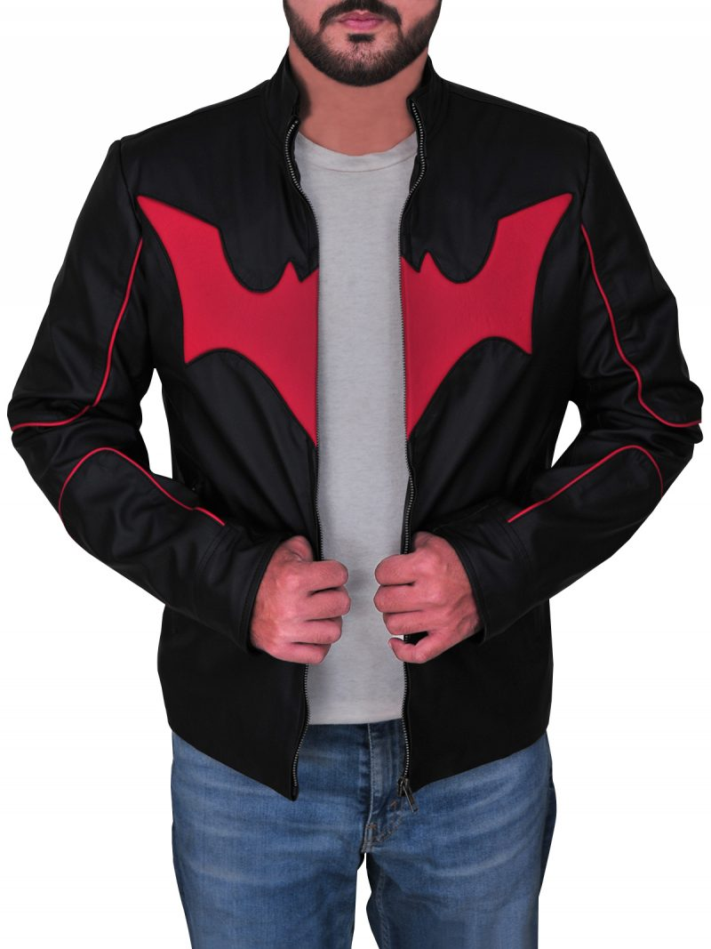 Batman Beyond Terry McGinnis Bat Logo Jacket
