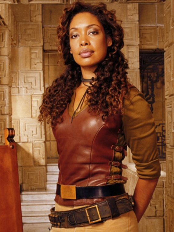 Firefly Gina Torres Leather Vest