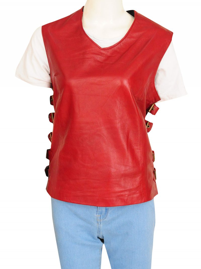 Firefly Gina Torres TV Series Zoe Washburne Leather Vest
