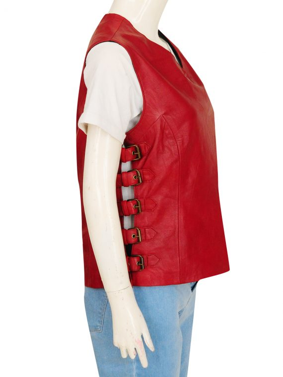 Firefly Gina Torres TV Zoe Washburne Leather Vest