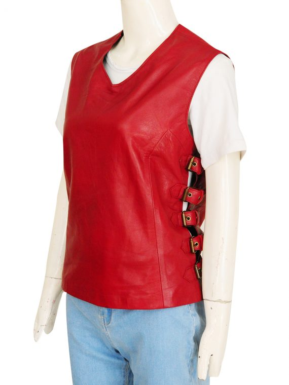 Firefly Gina Torres Zoe Washburne Leather Vest