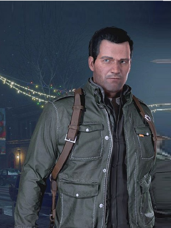Frank West Game Dead Rising 4 Leather Jacket