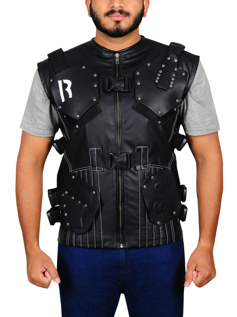 G I Joe Retaliation Dwayne Johnson Black Vest,