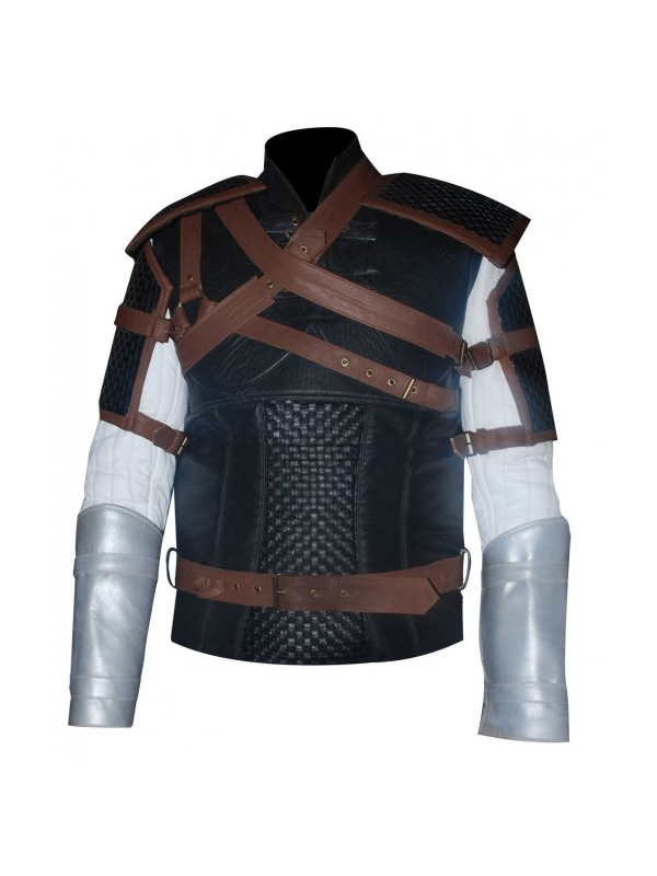 Geralt Game Leather Jacket