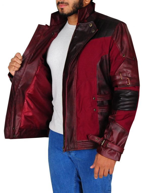 Guardian Of The Galaxy Leather Jacket