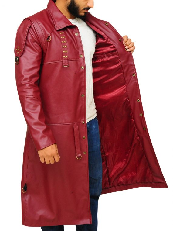 Guardians Of The Galaxy Yondu Udonta Leather Coat