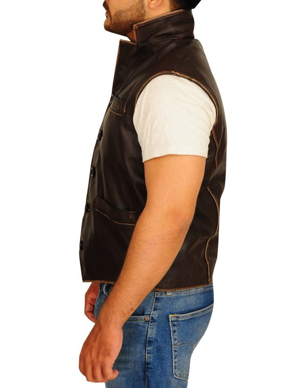 Hell On Wheels Leather Vest