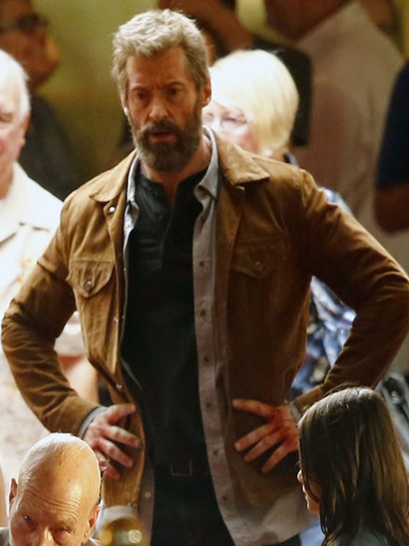 Hugh Jackman Wolverine 3 Leather Jacket