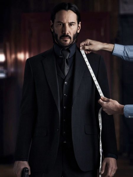 John Wick Chapter II Crime Blezar Coat
