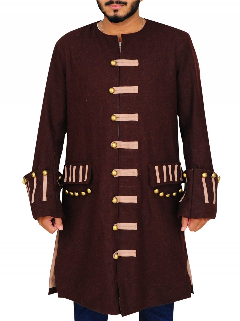 Pirates Of The Caribbean 3 Jack Sparrow Johnny Depp Coat