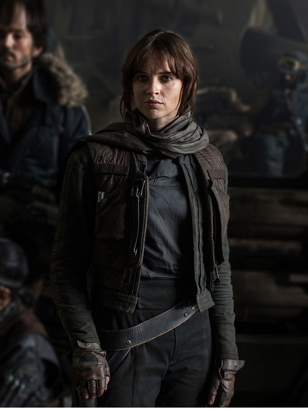 Jyn Erso Star Wars Movie Rogue One Jacket