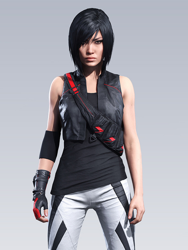 Kate Connors Mirrors Edge Catalyst Vest