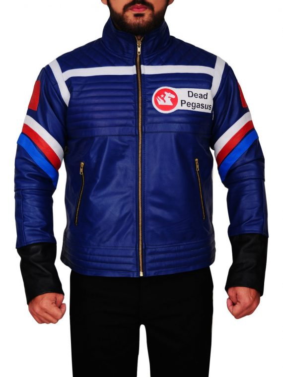 My Chemical Romance Party Poison Blue Jacket,