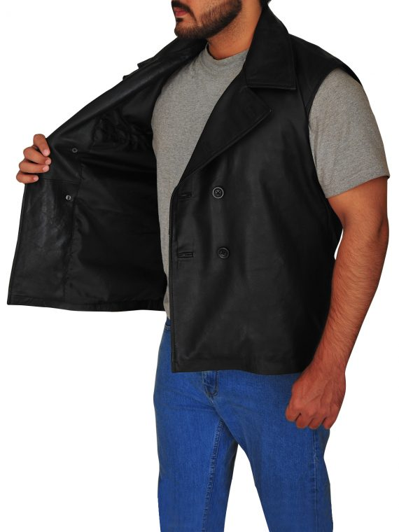 Spiderman Macho Noir Black Vest,