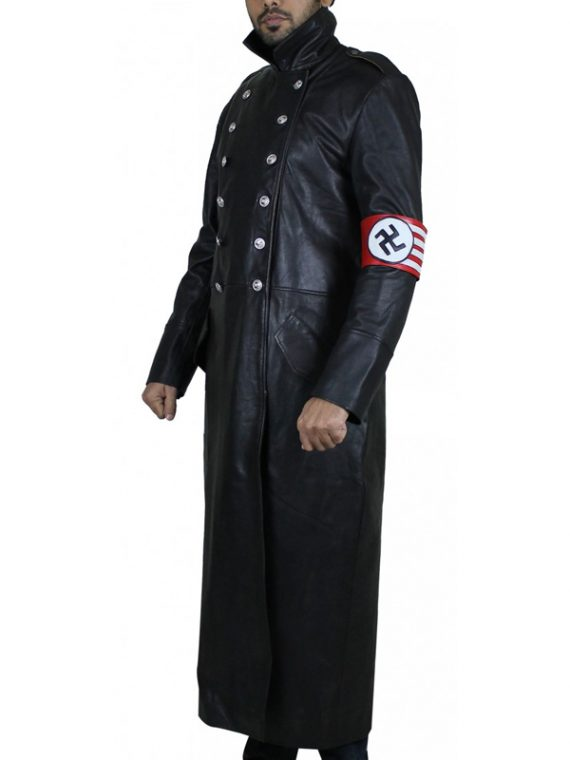 TV Series Nazi Officer Leather Coat
