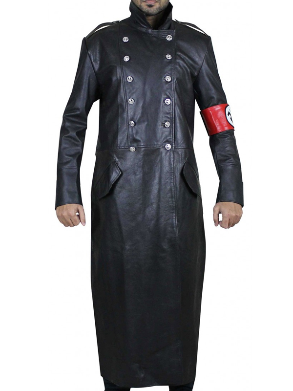 The Man In The High Castle Nazi Officer Leather Coat