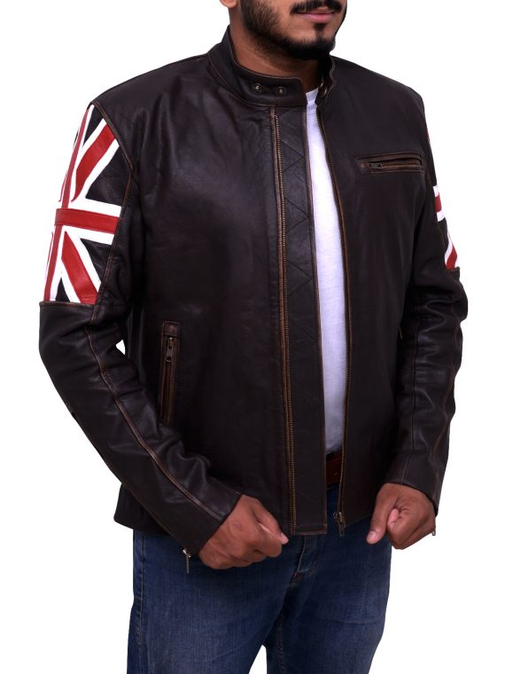 Uk Flag Vintage Jacket