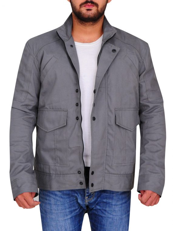 Christian Cage Grey Jacket