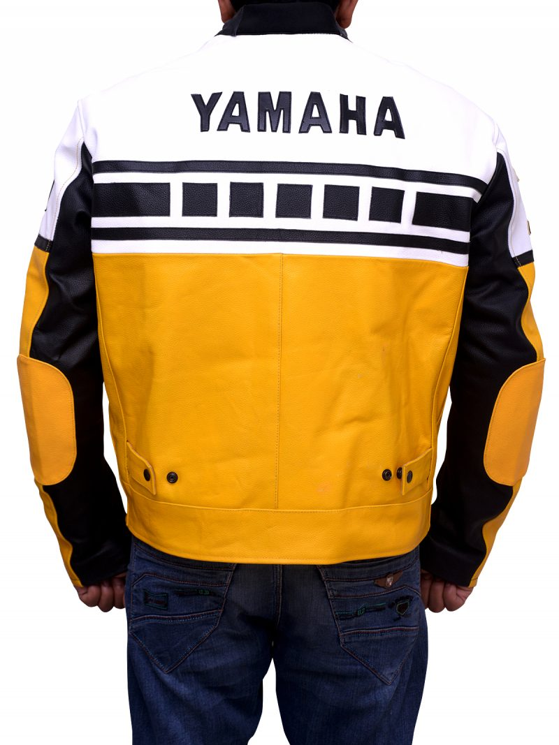 Yamaha Vintage Yellow Riding Jacket
