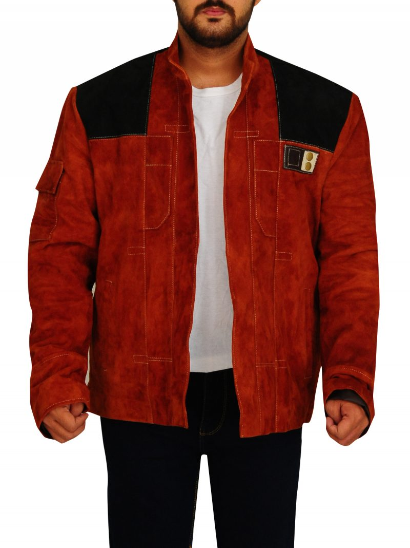 Han Solo A Star Wars Story Distressed Leather Jacket