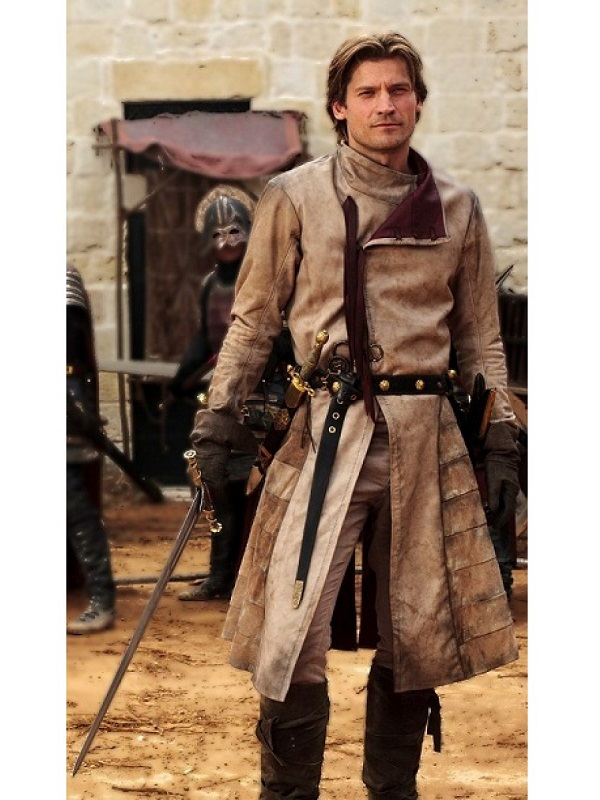 Jaime Lannister Games of Thrones Long Coat
