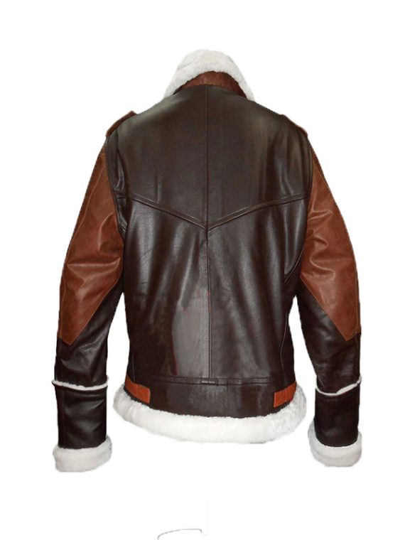 Motorcycle B3 Bomber Cow Hide Jacket