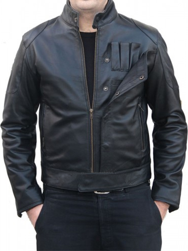 TIE Fighter Pilot Movie Star Wars Leather Jacket