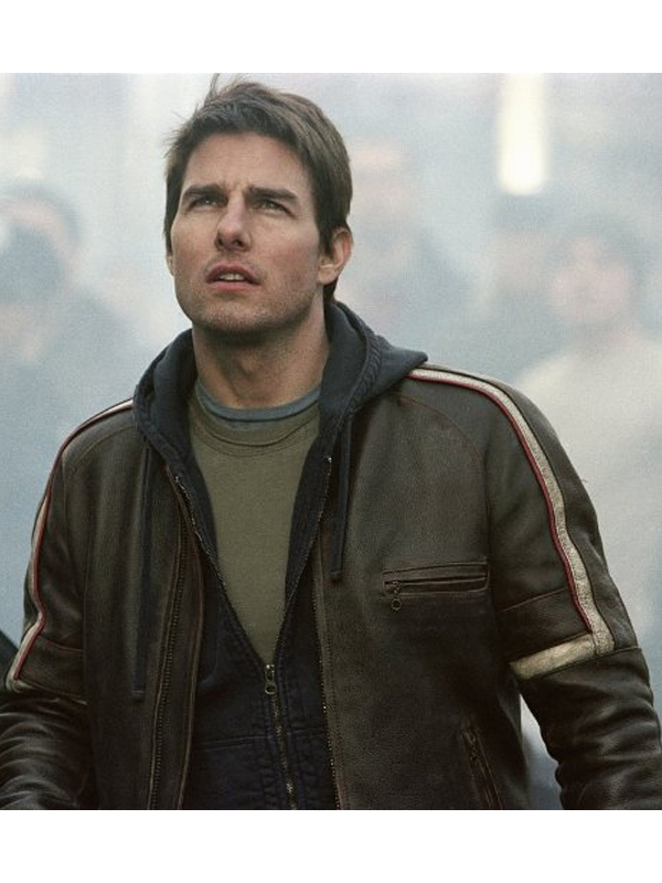 Tom Cruise Movie War Of The Worlds Black Jacket