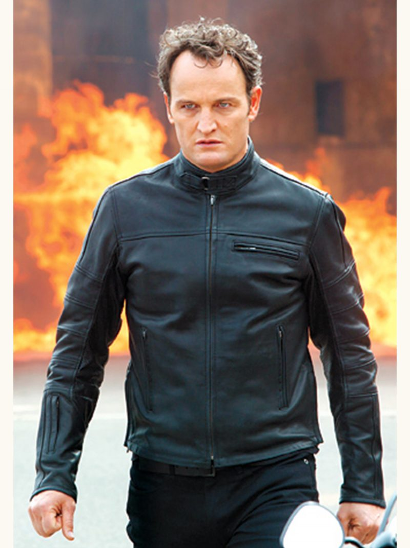 Terminator Genisys Jason Clarke Leather Jacket