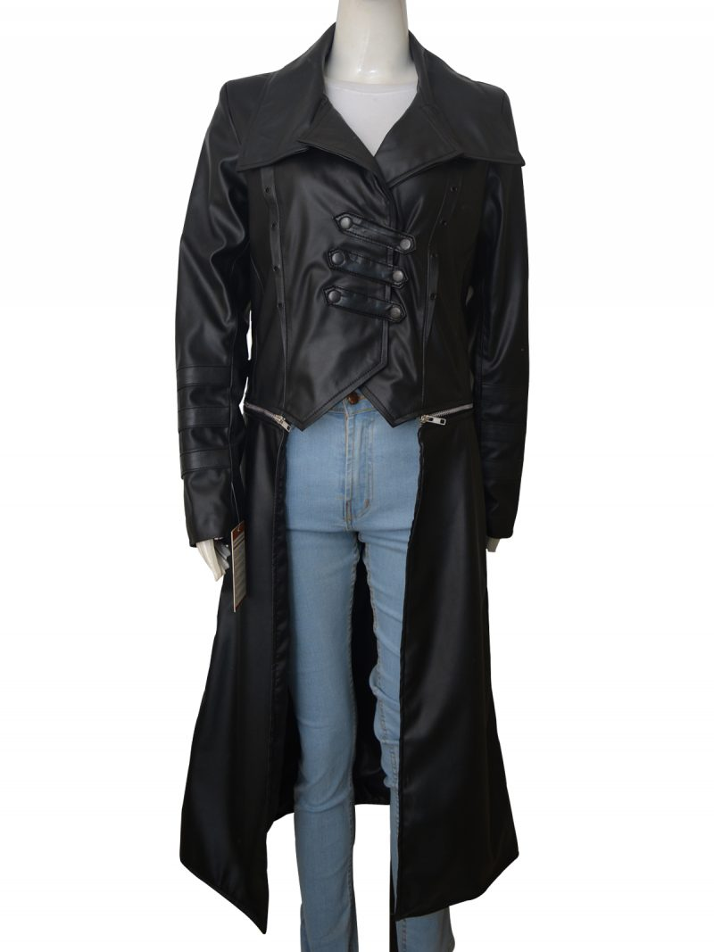WWE Becky Lynch Long Trench Coat