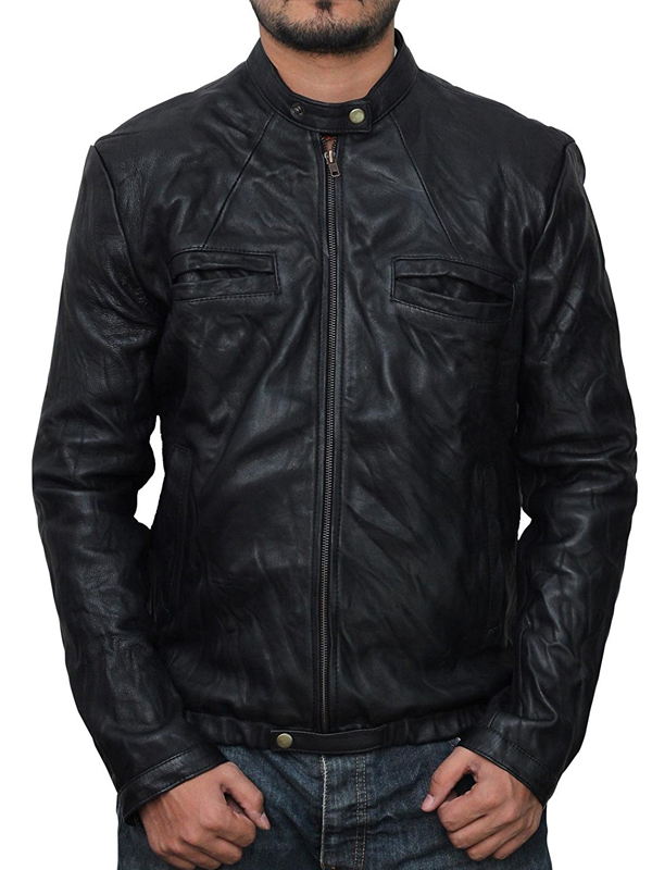 Zac Efron Movie 17 Again Oblow Leather Jacket