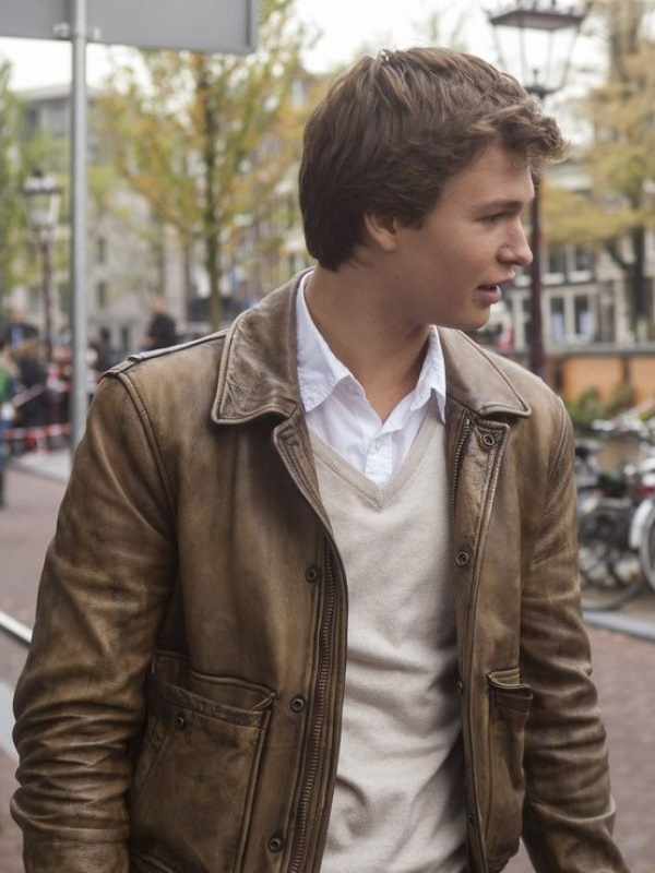 Ansel Elgort The Fault in Our