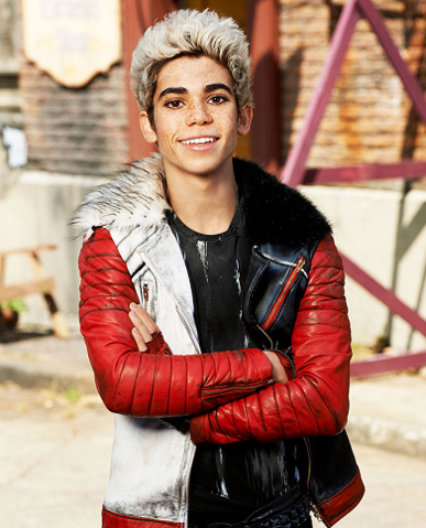 CAMERON BOYCE DESCENDANTS LEATHER JACKET
