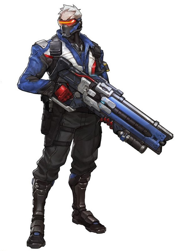Overwatch Game Soldier 76 Motorcycle Jacket