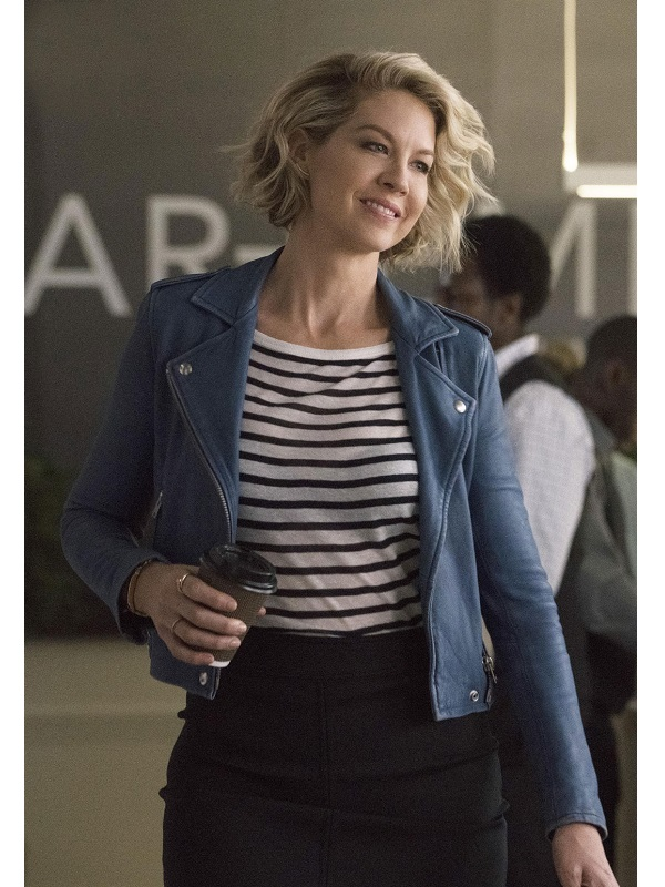 Alice Imaginary Mary Jenna Elfman Leather Jacket