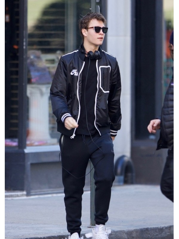 Ansel Elgort Movie Baby Driver Jacket