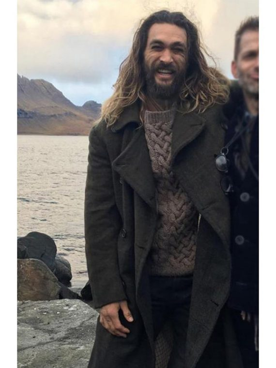 Jason Momoa Justice League Green Coat