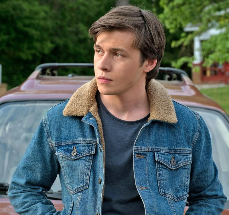 Love Simon's Nick Robinson Blue Jeans Jacket