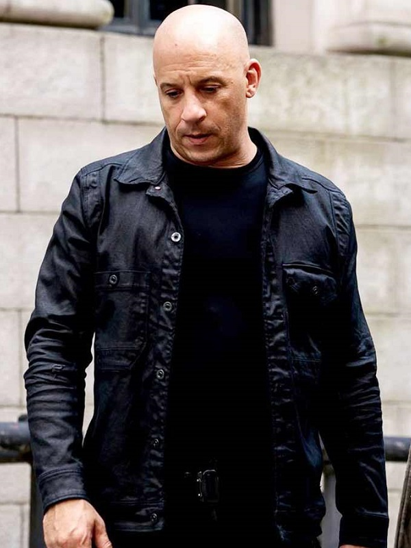 Vin Diesel Movie Fate Of The Furious Cotton Jacket