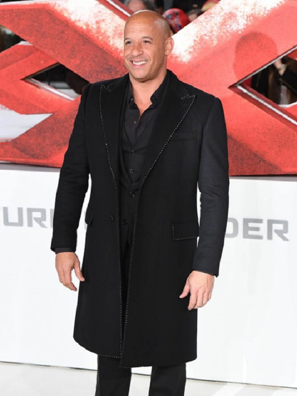 Vin Diesel XXX Movie Premiere Long Coat