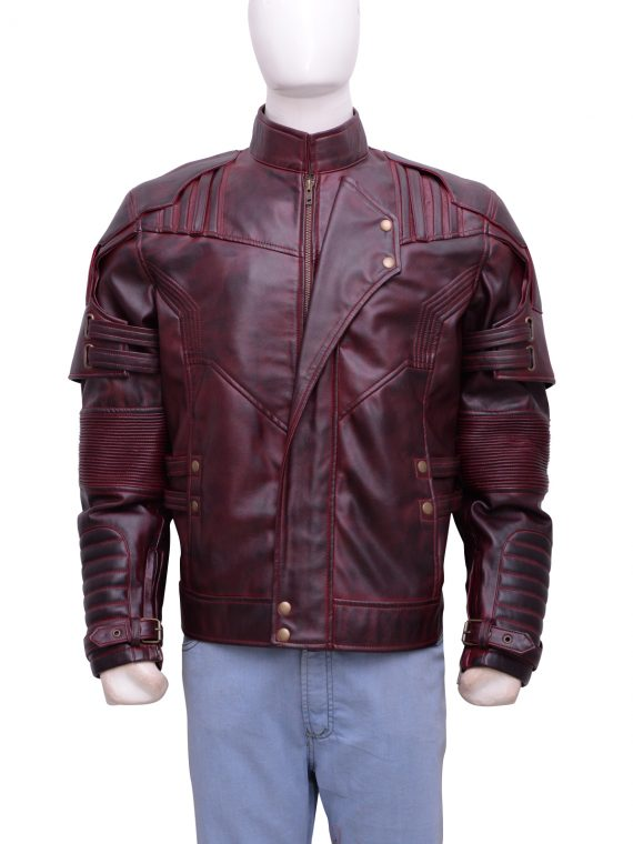 Chris Pratt Star Lord Leather Jacket