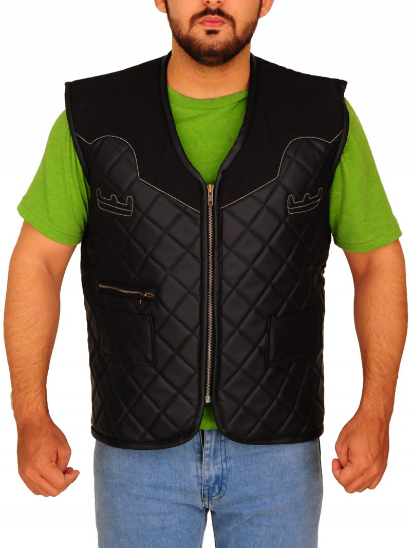Far Cry 5 Greg Bryk Leather Vest
